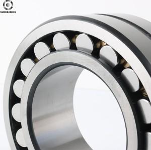 SUNBEARING Rodamiento de rodillos esféricos 22238CA Plata 190 * 340 * 92 mm Acero al cromo GCR15