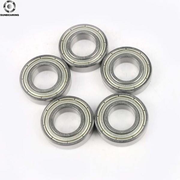 SUNBEARING Радиальный шарикоподшипник 6901 ZZ 2RS Серебро 12 * 24 * 6 мм Хромированная сталь GCR15