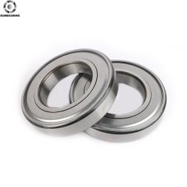 SUNBEARING الكرات الأخدود العميق 6910 ZZ فضة 50 * 72 * 12mm كروم فولاذ GCR15