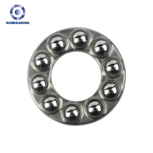 SUN BEARING Trust Ball Bearing 51101 Silver 12 * 26 * 9mm Stainless Steel