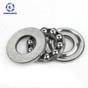China Manufacture Standard Mini Ball Bearings Trust Ball SUN Bearing 51101