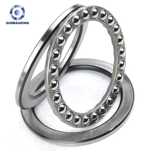 SUNBEARING Упорный шарикоподшипник 51114 Серебро 70 * 95 * 18 мм Хромированная сталь GCR15
