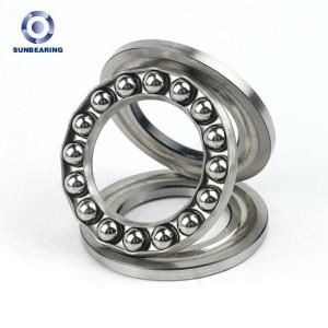 Mechanical Parts Thrust Ball Bearing 51106 For Airplane SUN  Bearing