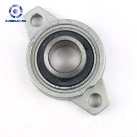 SUNBEARING وسادة كتلة تحمل UCFL204 رمادي 113 * 60 * 25.5 مم كروم فولاذ GCR15