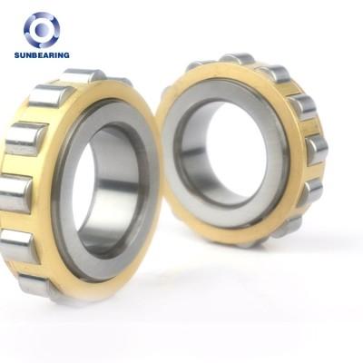 SUNBEARING أسطوانة أسطوانية RN310 صفراء وفضية 50 * 95 * 27 ملم كروم فولاذ GCR15