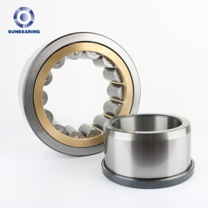 SUNBEARING Cylindrical Roller Bearing NJ424M 120*310*42mm Stainless Steel GCR15