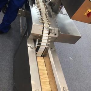 High Speed Stabilized Food Stick Surface Coiler Cutting Machine SUN Bearing