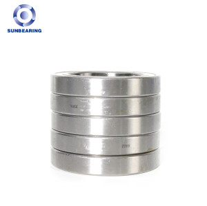 SUNBEARING Deep Groove Ball Bearing 6911 ZZ Silver 55*80*13mm Chrome Steel GCR15