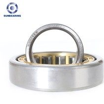 SUNBEARING Cylindrical Roller Bearing NU314 Yellow and Silver 70*150*35mm Chrome Steel GCR15