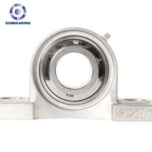 Stainless Steel Inner Bearing/ Pillow Block Ball Bearing Units SP207 SUN BEARING