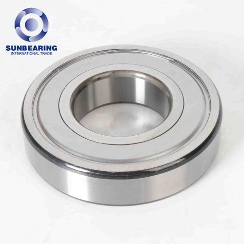 RODAMIENTO DEL SOL Rodamiento rígido de bolas 6317 plata 50 * 180 * 41 mm acero inoxidable