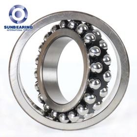 SUNBEARING Self-Aligning Ball Bearing 1214 Silver 70*125*24mm Stainless steel GCR15