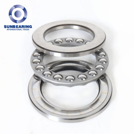 SUNBEARING Thrust Ball Bearing 51220 Silver 100*150*38mm Chrome Steel GCR15