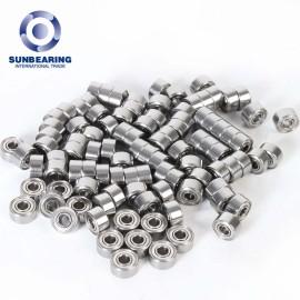 SUNBEARING Angular Contact Ball Bearing 70322M Silver Chrome Steel GCR15