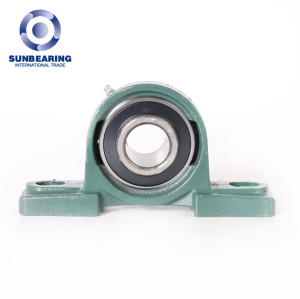 SUN BEARING Pillow Block Mounted Bearing UCP307 Green 35*48*210mm Stainless Steel