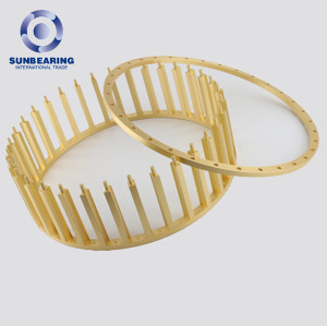 Customized 608 Bearing Stainless Steel Cage Grass Bearing Cage In China SUNBEARING