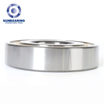 SUNBEARING Deep Groove Ball Bearing 6322 Yellow and Silver 110*240*50mm Chrome Steel GCR15