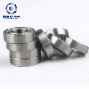 SUNBEARING Deep Groove Ball Bearing 6800 ZZ Silver 10*19*5mm Chrome Steel GCR15