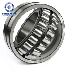 SUNBEARING Spherical Roller Bearing 24018 Silver 100*150*50mm Chrome Steel GCR15