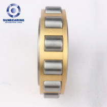 SUNBEARING Cylindrical Roller Bearing RN306 Yellow 30*62*19mm Chrome Steel GCR15