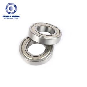 SUNBEARING الكرات الأخدود العميق 6209 ZZ فضية 45 * 85 * 19mm كروم فولاذ GCR15