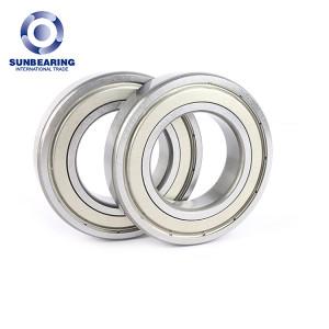 SUNBEARING Rodamiento rígido de bolas 6210 Plata 50 * 90 * 20 mm Acero al cromo GCR15