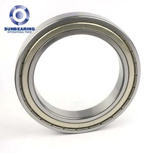 SUNBEARING الكرات الأخدود العميق 6917 الفضة 85 * 120 * 18MM الفولاذ المقاوم للصدأ GCR15