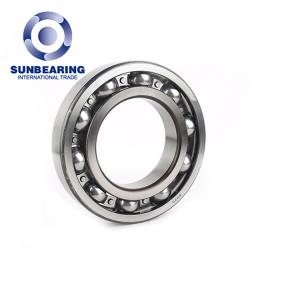 Hydraulic Bearing Open Type Deep Groove Ball Bearing 6220 SUNBEARING