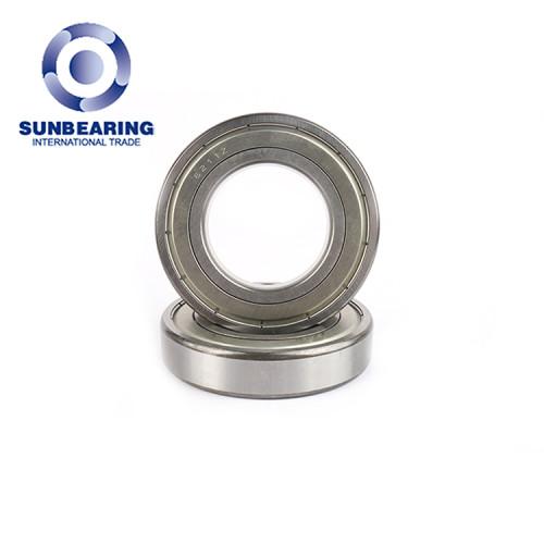 SUNBEARING Rodamiento rígido de bolas 6211 Plata 55 * 100 * 21 mm Acero al cromo GCR15