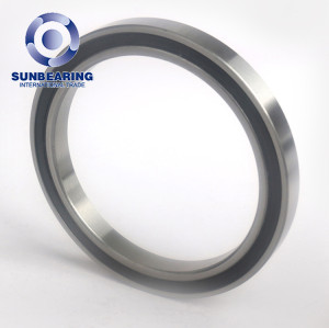 Good Rate Deep Groove Ball Bearing 6807 RS SUNBEARING