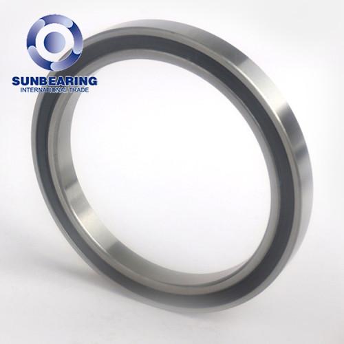 Sunbearing الكرة الاخدود العميق اضعا 6807 RS الأسود 35 * 47 * 7mm كروم Streel GCR15