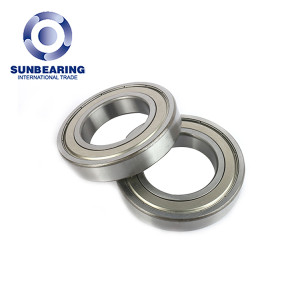Machine Deep Groove Ball Bearing 6214 SUNBEARING