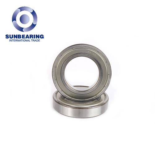 SUNBEARING Rodamiento rígido de bolas 6215 Plata 75 * 130 * 25 mm Acero al cromo GCR15
