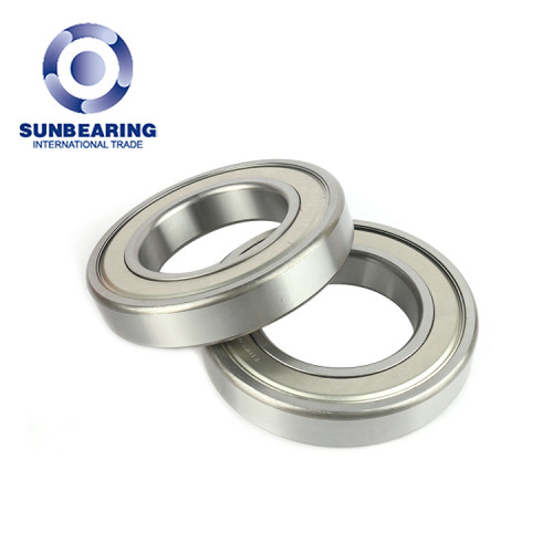 SUNBEARING Rodamiento rígido de bolas 6217 Plata 85 * 150 * 28 mm Acero al cromo GCR15