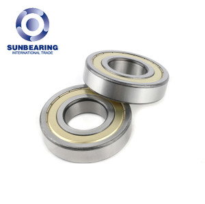 Engine Deep Groove Ball Bearing 6310 With Yellow Shield SUNBEARING