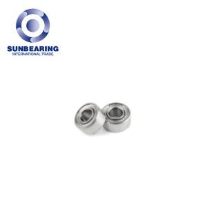 SUNBEARING Deep Groove Ball Bearing 6001 RS & ZZ Silver 12*28*8mm Carbon Steel