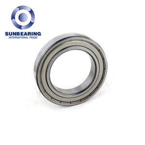 SUNBEARING Deep Groove Ball Bearing 6012 Silver 60*95*18mm Chrome Steel GCR15