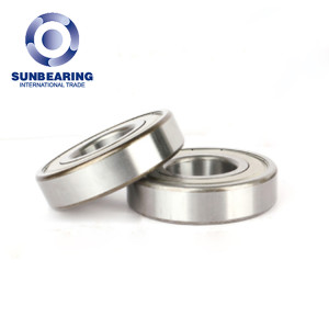 SUNBEARING Deep Groove Radial Ball Bearing 6311 Silver 55*120*29mm Chrome Steel GCR15
