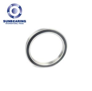 SUNBEARING Deep Groove Ball Bearing 6824 Silver 120*150*16mm Chrome Steel GCR15