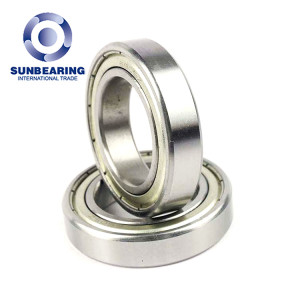 SUNBEARING Deep Groove Ball Bearing 6905 Silver 25*42*9mm Chrome Steel GCR15