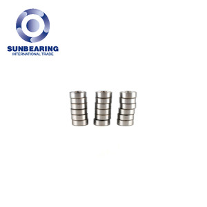 High Precision Small Mini Deep Groove Ball Bearing SUNBEARING