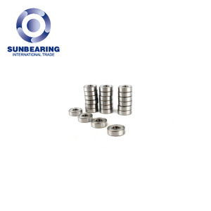 SUNBEARING Deep Groove Ball Bearing 688 Silver 8*16*4mm Stainless Steel GCR15