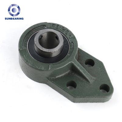 SUNBEARING وإذ تضع وسادة كتلة UCFB204 الأخضر الداكن 20 * 62 * 32mm الكروم الصلب GCR15