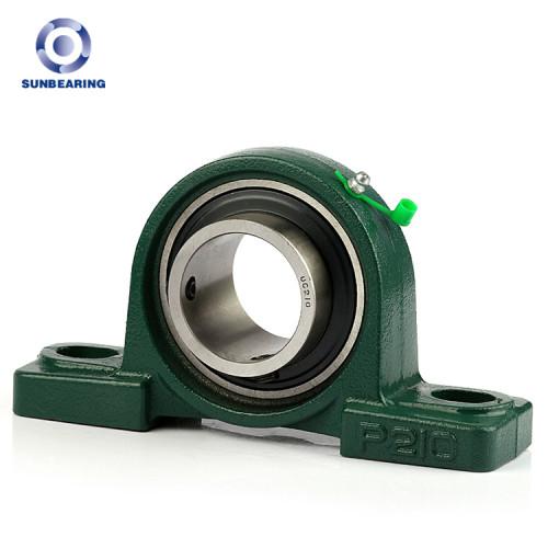 Bloque de almohada SUNBEARING UCP208 verde 40 * 49.2 * 184 mm acero cromado GCR15