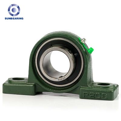Bloque de almohada SUNBEARING UCP209 verde 45 * 54 * 190 mm acero cromado GCR15