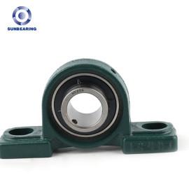 SUNBEARING وسادة كتلة ، وإذ تضع UCP206 الأخضر 30 * 42.9 * 165mm الكروم الصلب GCR15