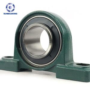 SUNBEARING Pillow Block Bearing UCP211 Green 55*63.5*219mm Cast Iron