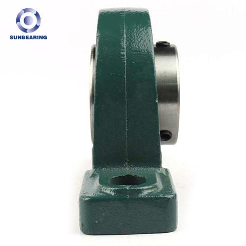SUNBEARING وسادة كتلة ، وإذ تضع UCP211 الأخضر 55 * 63.5 * 219mm الحديد الزهر