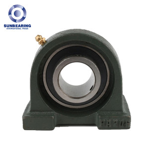 SUNBEARING Pillow Block Bearing UCPA206 Green 30*42.9*94mm Chrome Steel GCR15