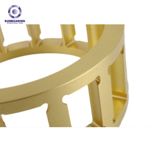 SUNBEARING Bearing Cage Yellow Brass Alloy